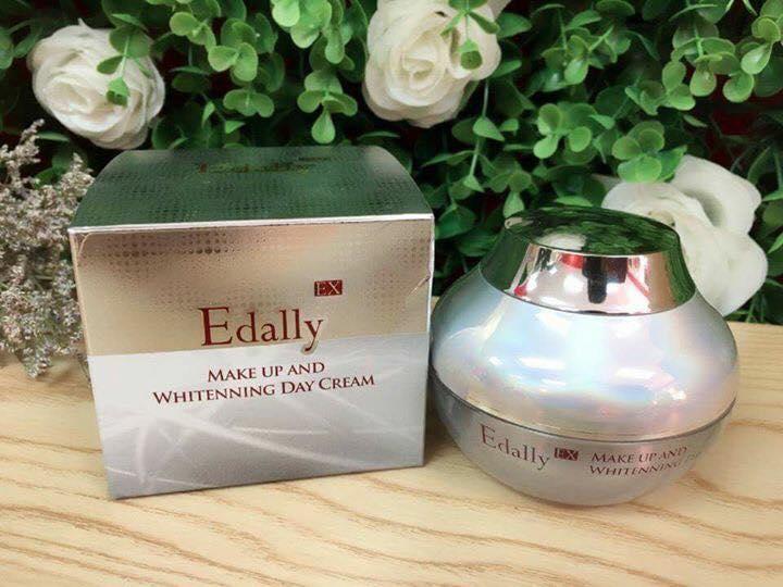 Kem trang điểm và dưỡng trắng ban ngày Edally Ex