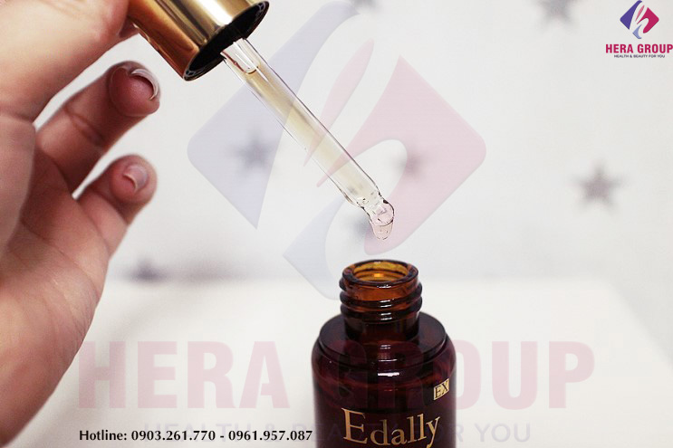 review huyết thanh tổ yến edally