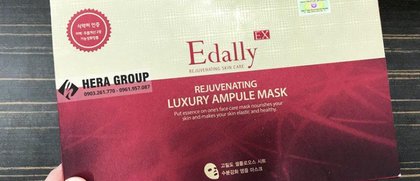 Mặt nạ huyết thanh Edally có tốt không? Có làm trắng mịn da không?