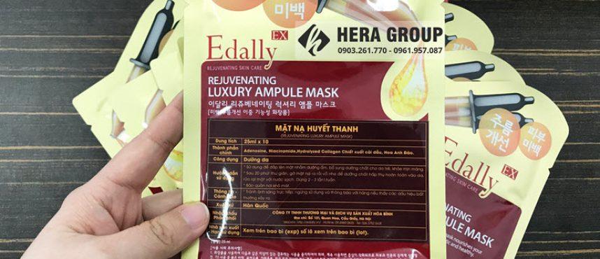 Mặt nạ huyết thanh Edally mua ở đâu chính hãng và đúng giá nhất?