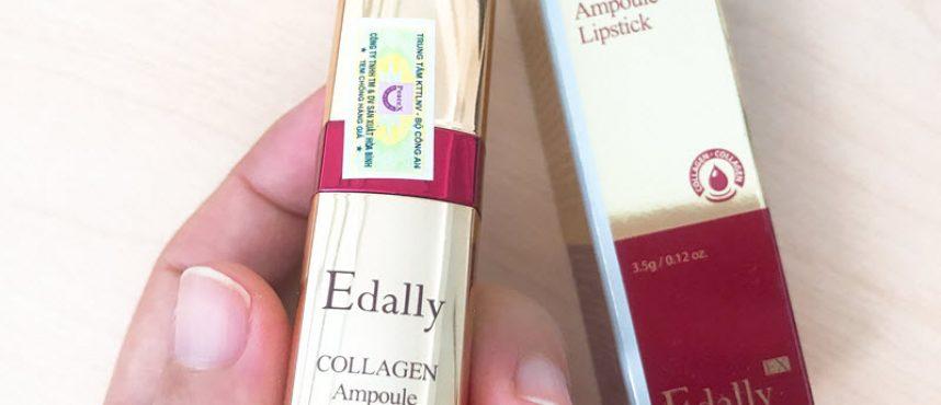 Son môi Collagen Edally Hàn Quốc giá bao nhiêu? Mua ở đâu tốt?